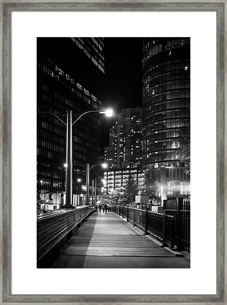 Long Walk Home Framed Print