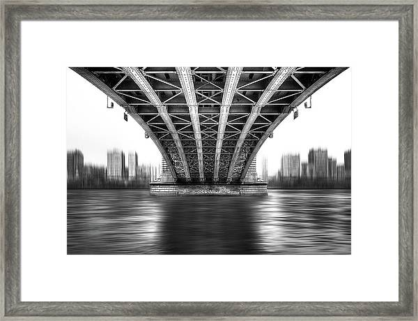Bridge To Another World Framed Print