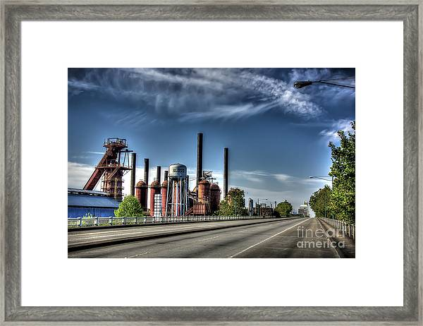 Bridge To The Past Framed Print
