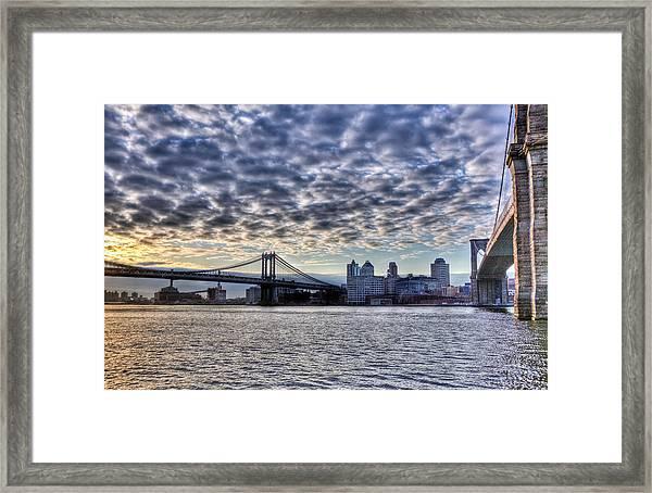Bridges Of New York Framed Print