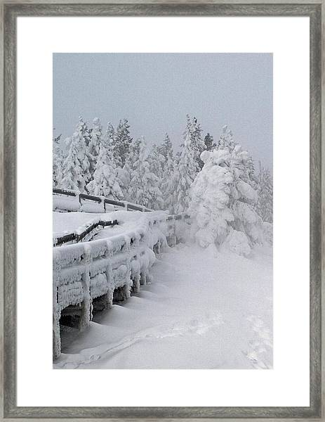 Bridges Of Yellowstone Framed Print