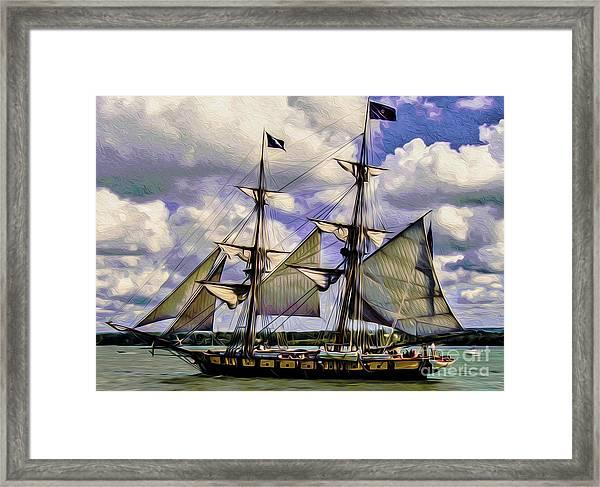 Brig Niagara IIi Framed Print