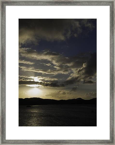 Bright Horizon Framed Print