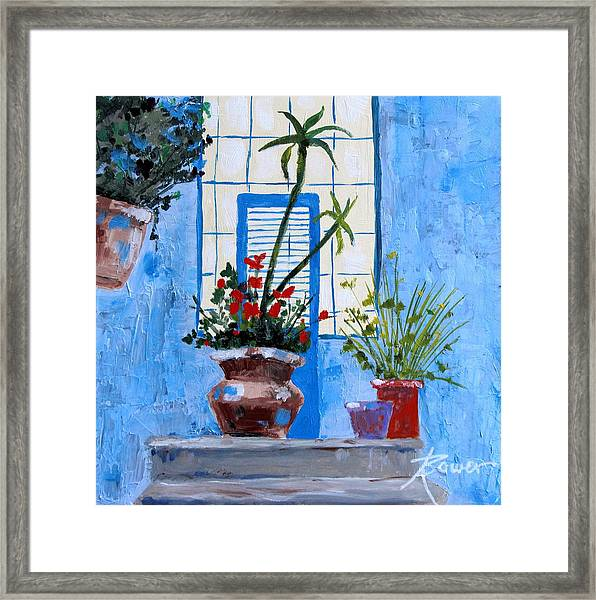 Bright Window Framed Print