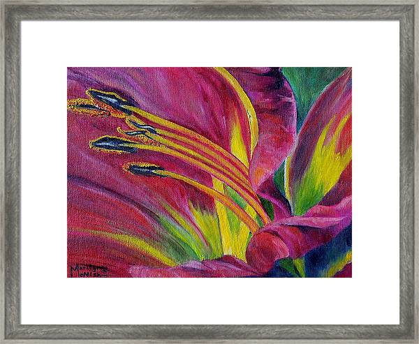 Brilliance Within Framed Print