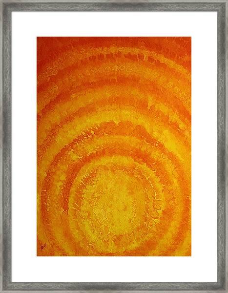 Bring The Light Original Painting Framed Print