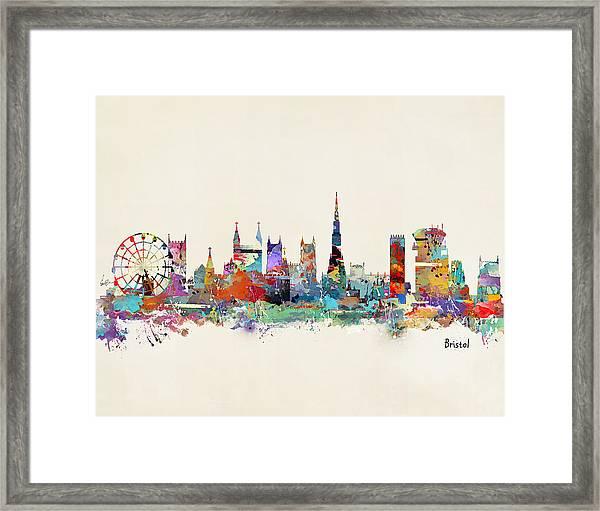 Bristol City England Framed Print
