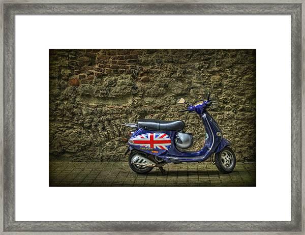 British At Heart Framed Print