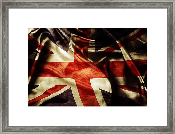 British Flag 1 Framed Print