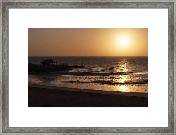 Broadstairs Sunrise Framed Print