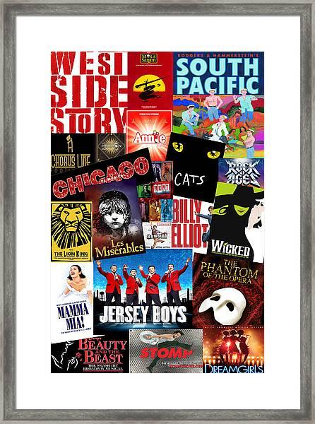 Broadway 1 Framed Print