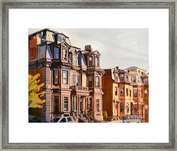 Broadway View Framed Print