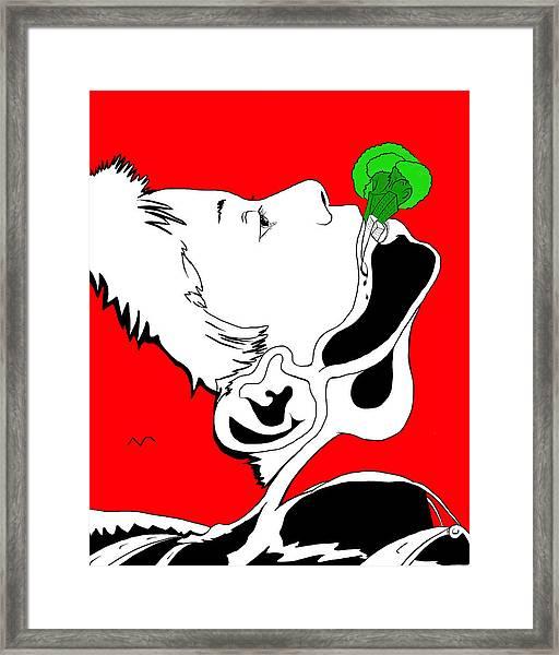 Brocolas Framed Print