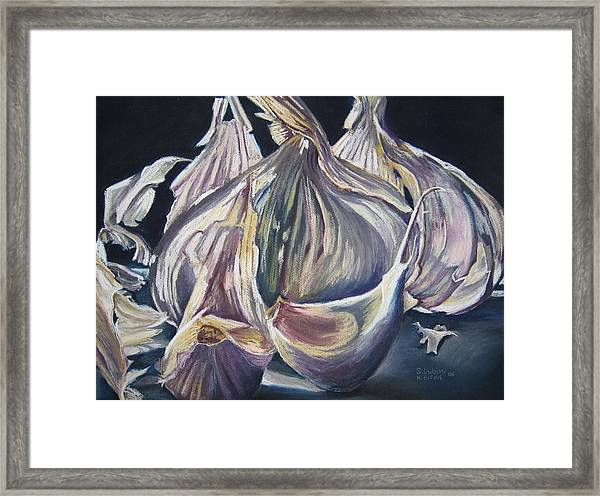 Broken Bulb Framed Print