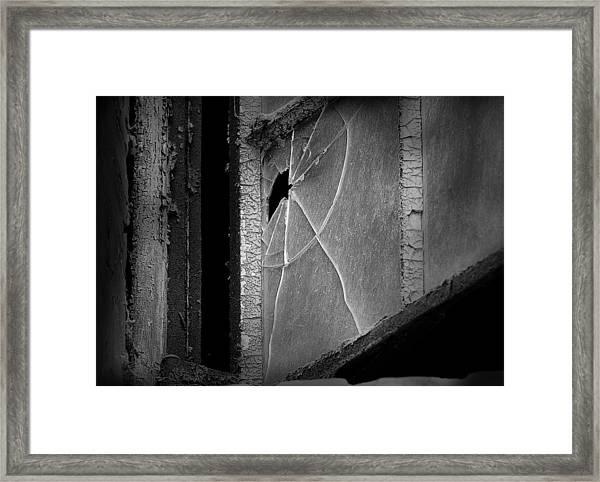 Broken By Denise Dube Framed Print