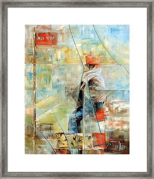 Broken Framed Print by Laurend Doumba