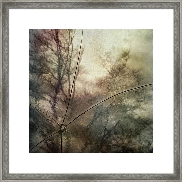 Broken Sky Framed Print