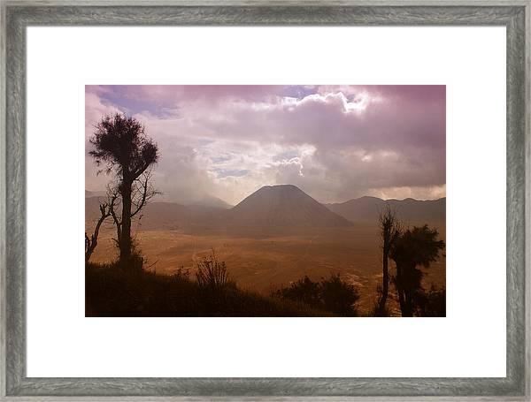 Bromo Framed Print