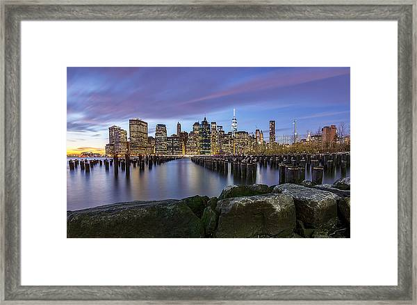 Brooklyn Park  Framed Print