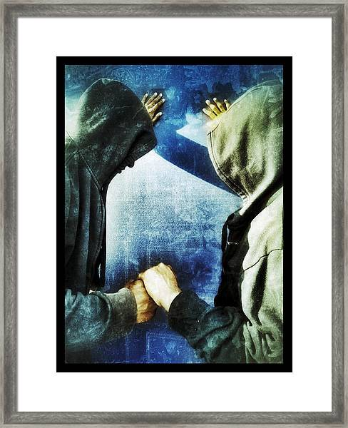 Brothers Keeper Framed Print