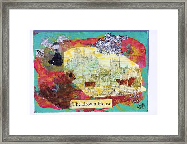 Brown House No 1 Framed Print