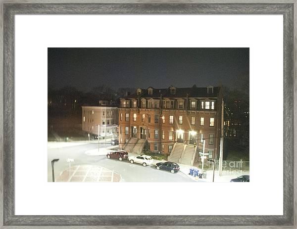 Brownstone Framed Print