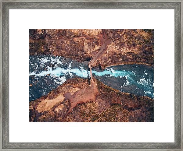 Bruarfoss Framed Print