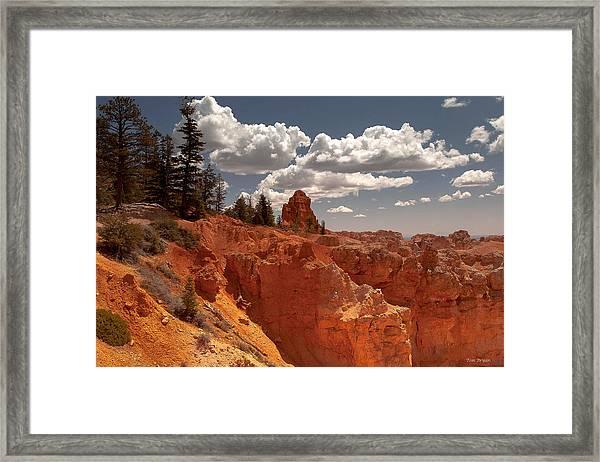 Bryce Canyon Sky  Framed Print