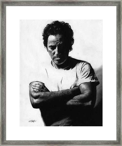 Bruce Springsteen  Framed Print