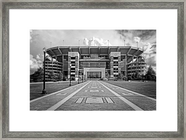 Bryant Denny Stadium 2011 Framed Print