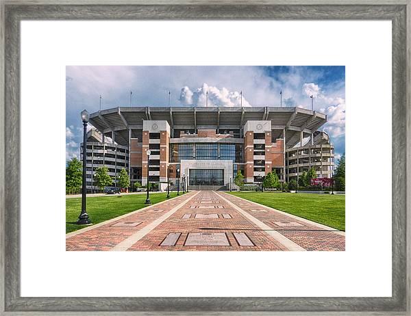 Bryant Denny Stadium Framed Print