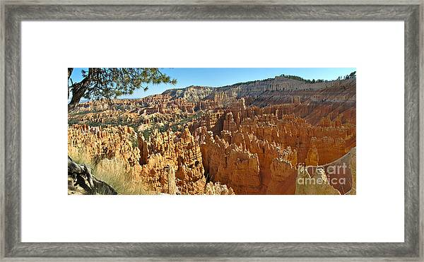 Bryce Afternoon Framed Print