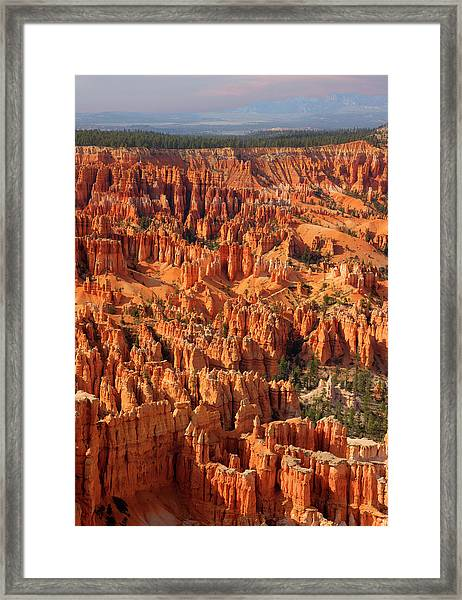 Bryce Canyon National Park - Framed Print by Ed Freeman