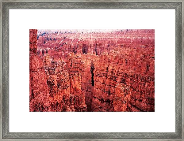 Bryce Canyon Red Framed Print