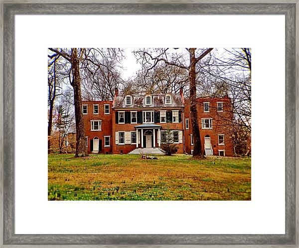 Buchanan House Framed Print