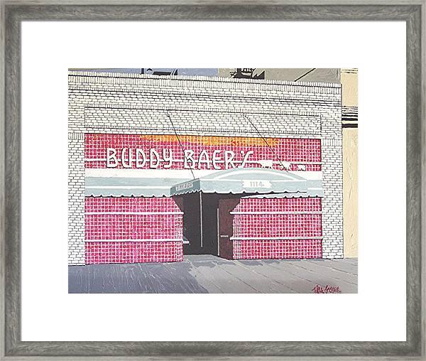 Buddy Baer's Framed Print by Paul Guyer
