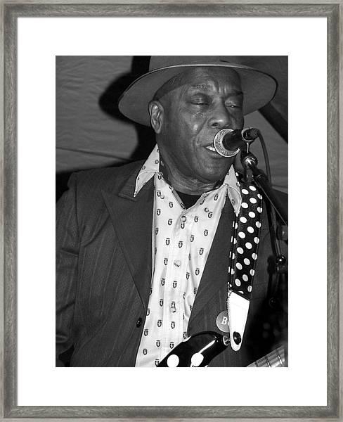 Buddy Guy Sings The Blues Framed Print