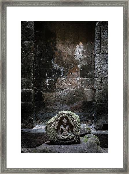Budha Framed Print