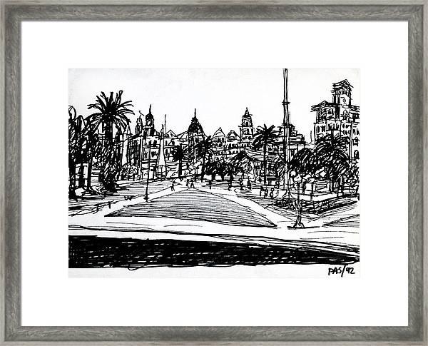 Buenos Aires Argentina  Framed Print