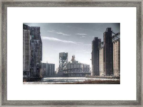 Buffalo Grain Mills Framed Print