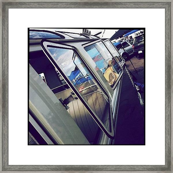 #bugorama #2013 #sacramento #vw #bus Framed Print