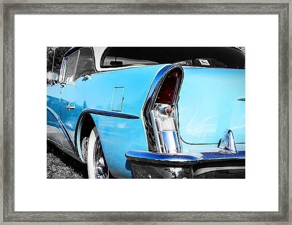 Buick Baby Blue Framed Print