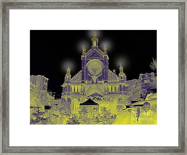 Building Art Framed Print