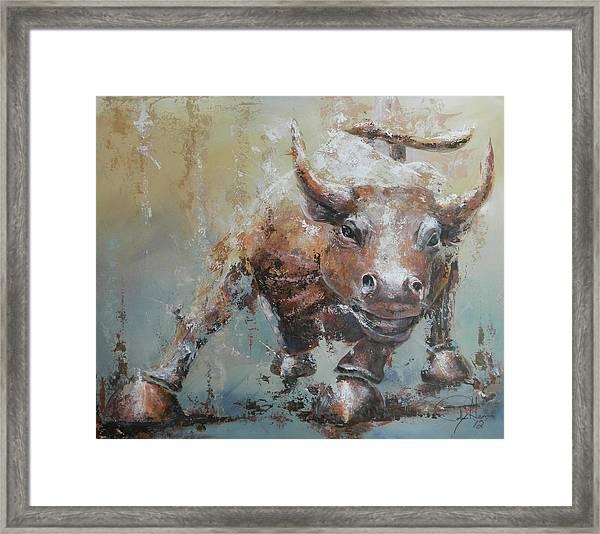 Bull Market Y Framed Print by John Henne