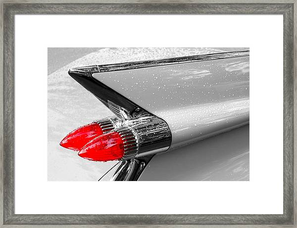 Bullet Tail Lights Framed Print