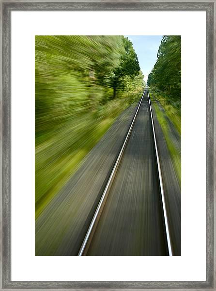 Bullet Train Framed Print