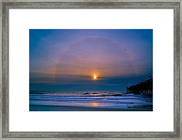 Framed Print featuring the photograph Bullseye by Francis Trudeau