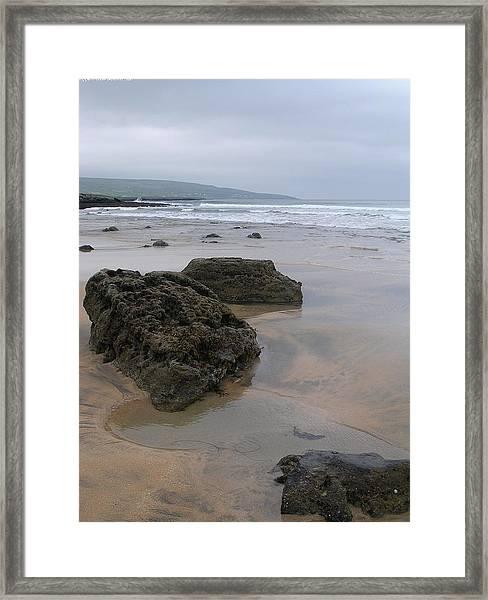 Buren Gold Beach Framed Print