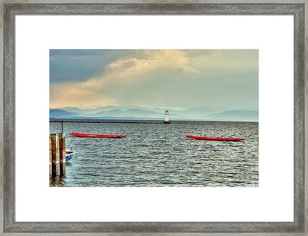 Burlington Light Framed Print
