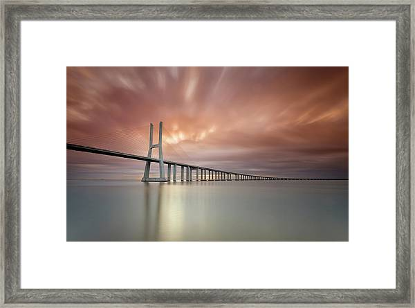 Burn, Fire Burn Framed Print